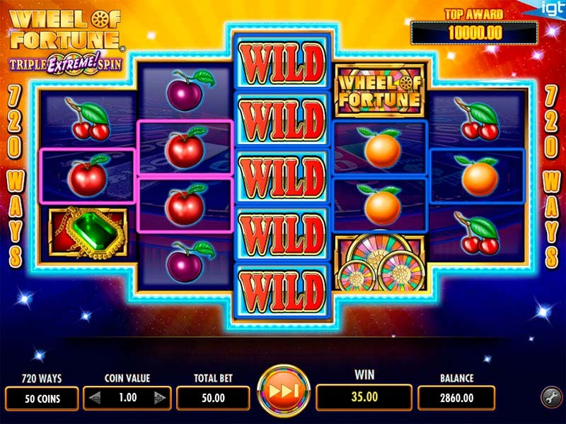 Wheel Of Fortune Slot Game Review By IGT