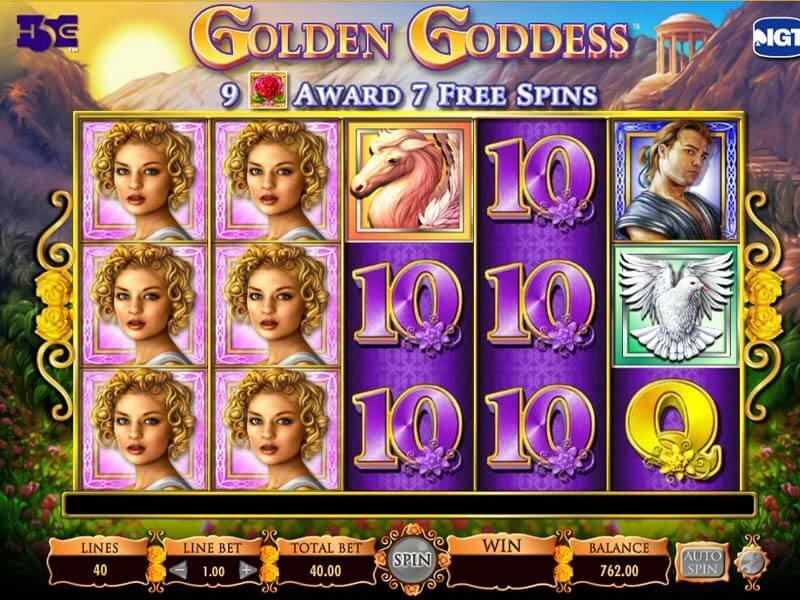 Review of IGT Golden Goddess Slot Online